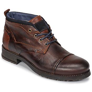 Schuhe Herren Boots Casual Attitude JABILON Braun,