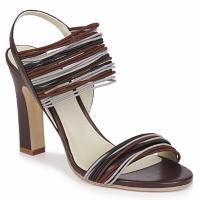 Schuhe Damen Sandalen / Sandaletten Jil Sander JS16121 Braun,