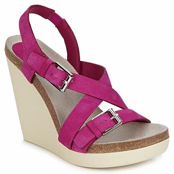 Schuhe Damen Sandalen / Sandaletten Jil Sander JS16295 Rose
