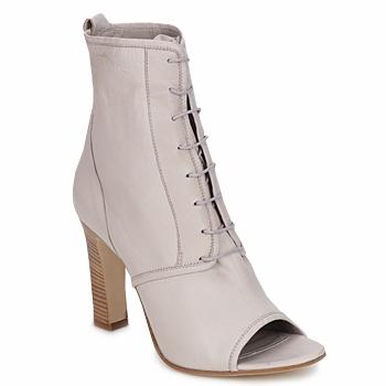 Schuhe Damen Low Boots Jil Sander JS16328 Beige