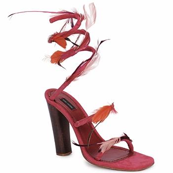 Schuhe Damen Sandalen / Sandaletten Marc Jacobs MJ16385 Rose