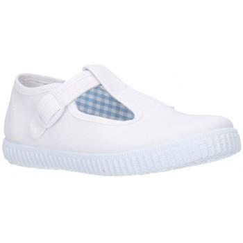 Chaussures Garçon Baskets basses Batilas 52601 Niño Blanco blanc