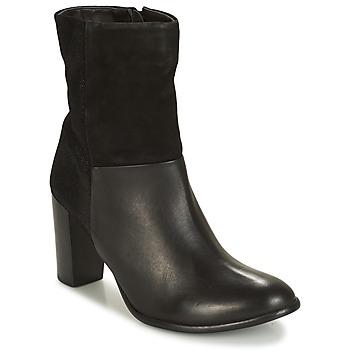 Chaussures Femme Bottines André PANDA Noir