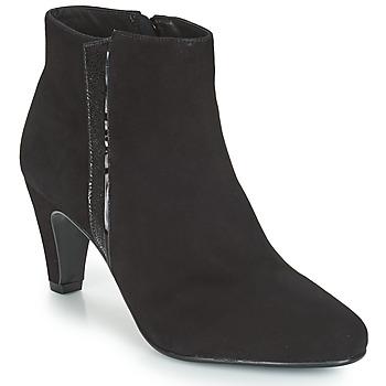 Schuhe Damen Low Boots André PRUNE Schwarz