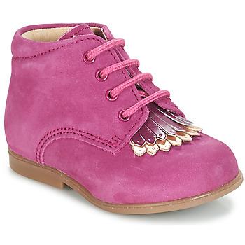 Schuhe Mädchen Boots André LILY Fuchsienrot