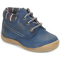 Chaussures Garçon Boots André NOE Marine