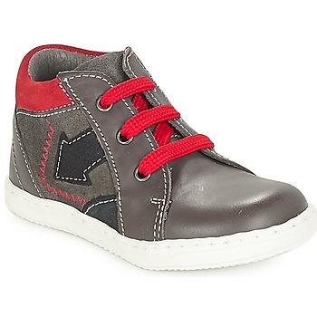 Chaussures Garçon Boots André LA FLECHE Gris