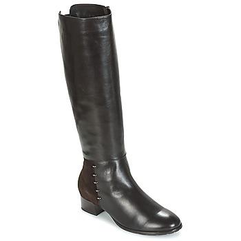Schuhe Damen Klassische Stiefel André DORA Braun,