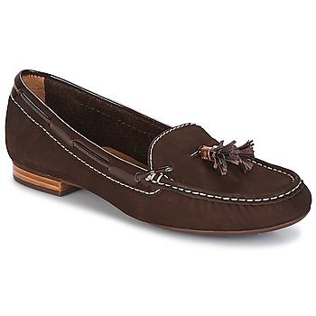 Chaussures Femme Mocassins André DANY Marron