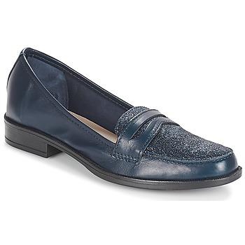 Chaussures Femme Mocassins André LONG ISLAND Marine