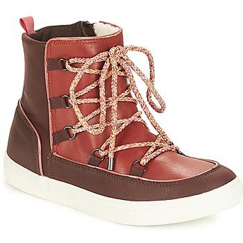 Chaussures Femme Boots André SNOW Marron
