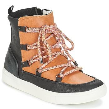 Schuhe Damen Boots André SNOW Kamel