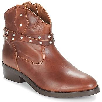 Chaussures Femme Boots André ARABELLA Marron