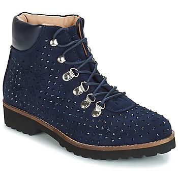 Chaussures Femme Boots André CALCEDOINE Bleu