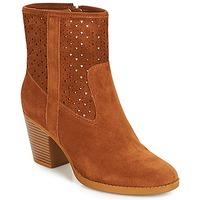 Schuhe Damen Low Boots André DELIA Kamel