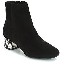 Schuhe Damen Low Boots André EUFORIA Schwarz
