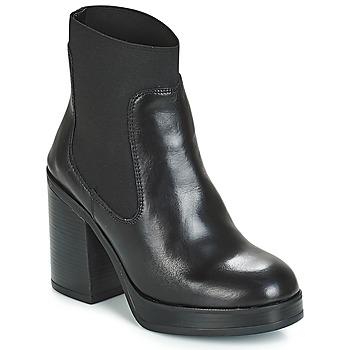 Schuhe Damen Low Boots André JESSICA Schwarz