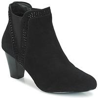 Schuhe Damen Boots André BRITANIE Schwarz