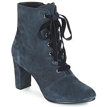 Chaussures Femme Bottines André JUSTINE Bleu