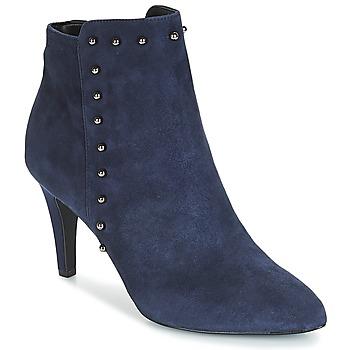 Schuhe Damen Low Boots André TEA Marineblau