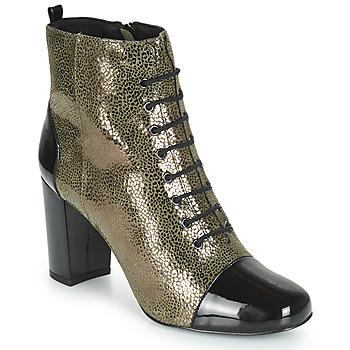 Chaussures Femme Bottines André CONGA Kaki