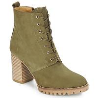 Schuhe Damen Low Boots André ROVER Khaki