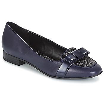 Schuhe Damen Ballerinas André ANNALISA Blau