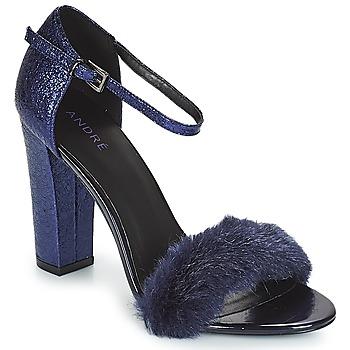 Chaussures Femme Sandales et Nu-pieds André WANDA Marine