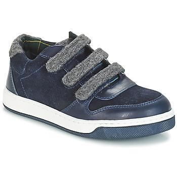 Chaussures Garçon Derbies André CARREAU Marine