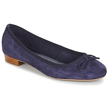 Schuhe Damen Ballerinas André CINDY Marineblau