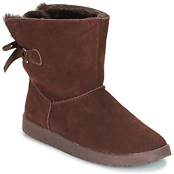 Chaussures Femme Boots André TOUDOU Marron