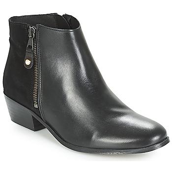 Schuhe Damen Boots André THAIS Schwarz