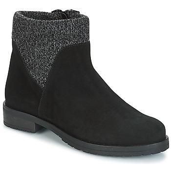 Chaussures Femme Boots André TRIAL Noir