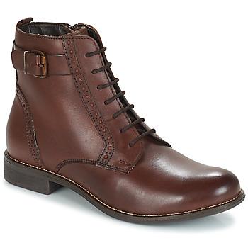 Chaussures Femme Boots André CHEPTELA Marron