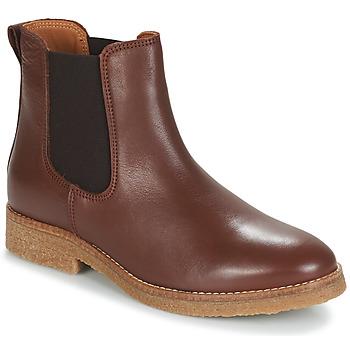 Chaussures Femme Boots André THELA Marron