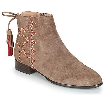 Chaussures Femme Boots André TSAR Beige