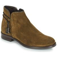 Schuhe Damen Boots André BILLY Grün