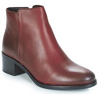 Schuhe Damen Low Boots André CREDO Rot