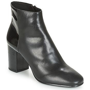 Schuhe Damen Low Boots André FEMINI Schwarz