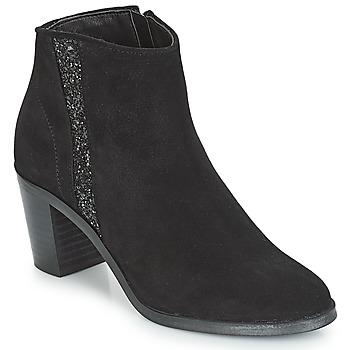 Schuhe Damen Low Boots André TERRA Schwarz