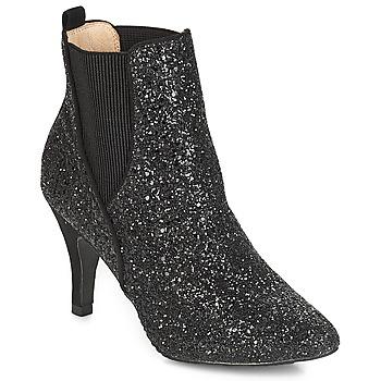Schuhe Damen Low Boots André APRIL Schwarz
