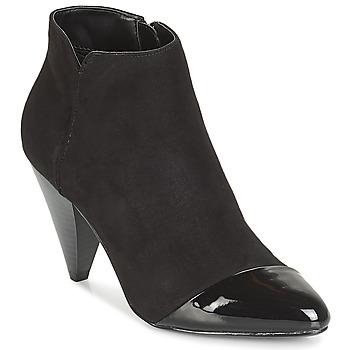 Schuhe Damen Low Boots André FAYA Schwarz