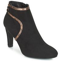 Chaussures Femme Bottines André AUREL Noir