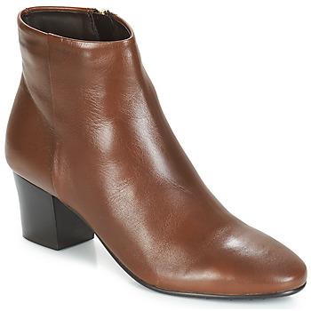 Chaussures Femme Bottines André FAME Marron