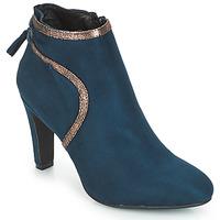 Chaussures Femme Bottines André AUREL Bleu