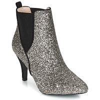 Schuhe Damen Low Boots André APRIL Silbrig