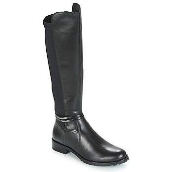 Schuhe Damen Klassische Stiefel André CALECARA Schwarz
