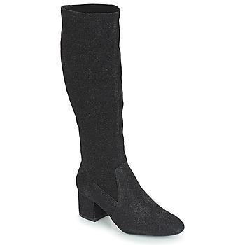 Schuhe Damen Klassische Stiefel André FARFELUE Schwarz
