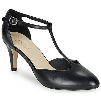 Chaussures Femme Escarpins André FALBALA Noir