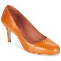 Schuhe Damen Pumps André FLAVIE Braun, / Orange